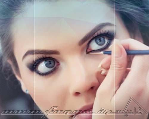 چگونه با آرایش چشمهایی درشت بسازیم؟