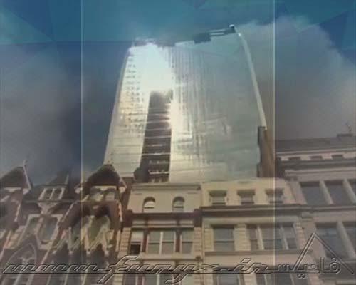 تصاویری از ساختمانی که یک خودرو را ذوب کرد!
