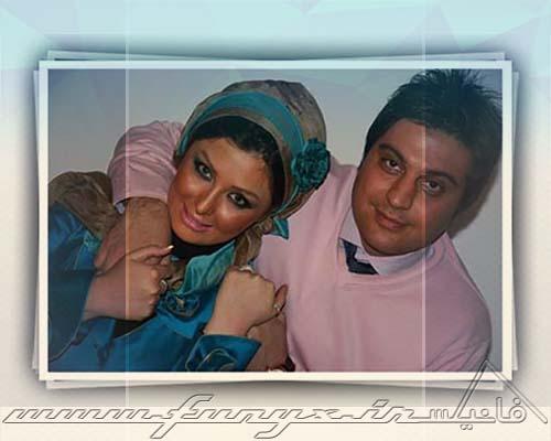 عکس نیوشا ضیغمی و همسرش در کنسرت علی زند وکیلی
